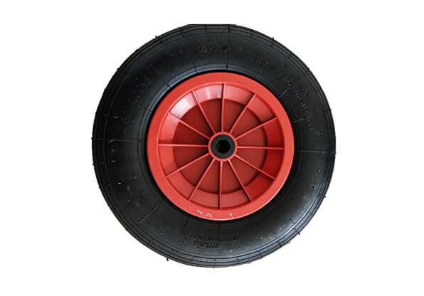 4.00-8 Rubber Wheel with Plastic Spoke